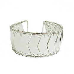 Directional Cuff - silver