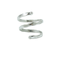 Double Wrap Ring - Silver