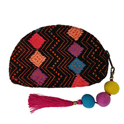 Crescent Pouch with Tassel