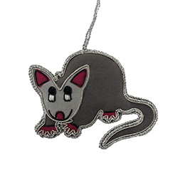 Opossum Ornament