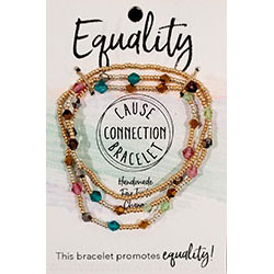 Cause Connection Bracelet - Equality (multi)