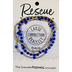 Cause Connection Bracelets - Rescue (dark blue)