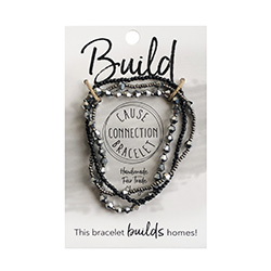Cause Connection Bracelet - Build (Silver/Gunmetal)