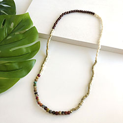 Natural Mixed Media Necklace/Bracelet