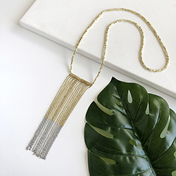Ombre Chain Necklace - Gold/Silver